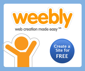 Website creation with Weebly
