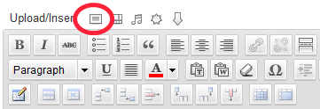 wordpress image icon