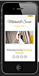 tips for a good wedding website