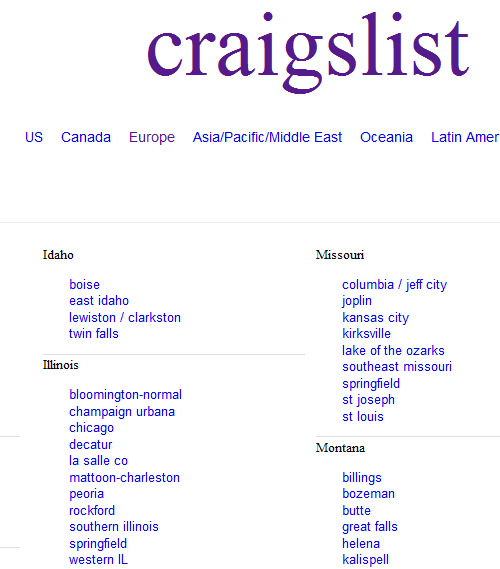 craigslist marketing
